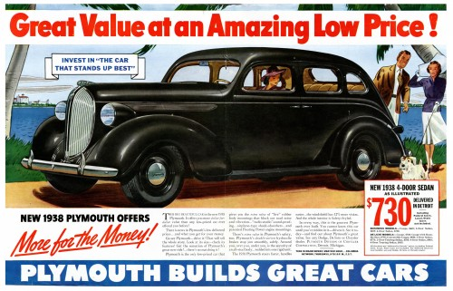 38 Plymouth Ad – Courtesy Old Car Advertising dot com