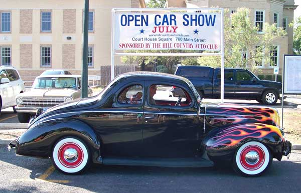 HCAC Best of Show 2012 - 39 Ford Coupe owned by Robert F. Robeson