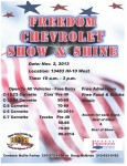 Freedom Chevrolet Show & Shine - San Antonio - Nov 2 2013