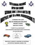 Fredericksburg Masonic Car Show 2014
