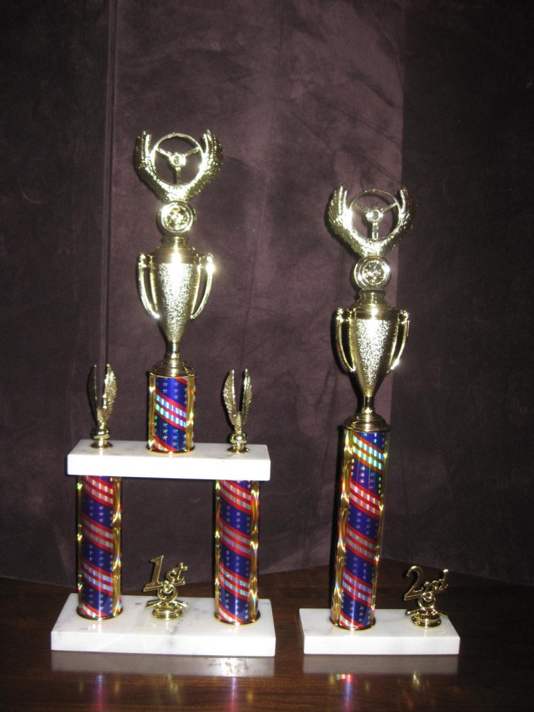 More of the Trophies for 2014 HCAC Car Show