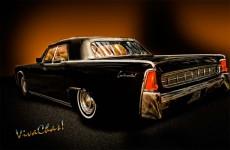 Big Black Lincoln Rag Top Get A Print!