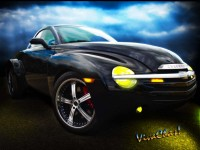 Chevy SSR by VivaChas Hot Rod Art! Click the Pix to Shop ~:0)