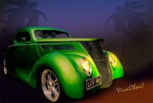 37 Ford Hot Rod Decked Out – Tropical Saint Patrick's Day in South Texas