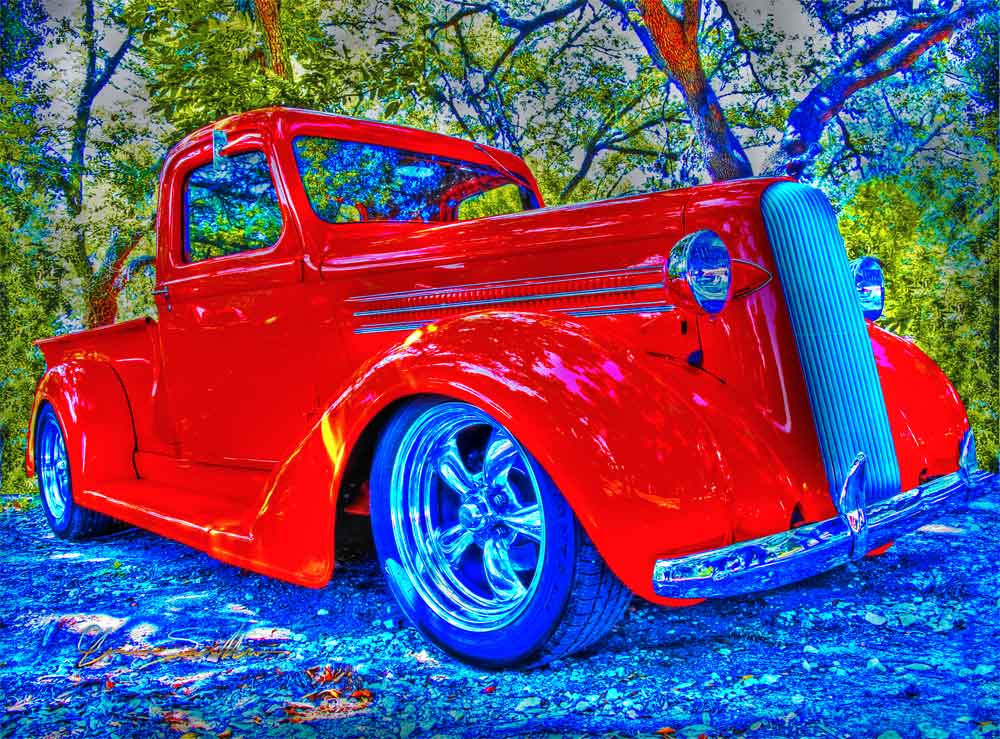 Dodge Pickup Luckenbach Hot Rod Show