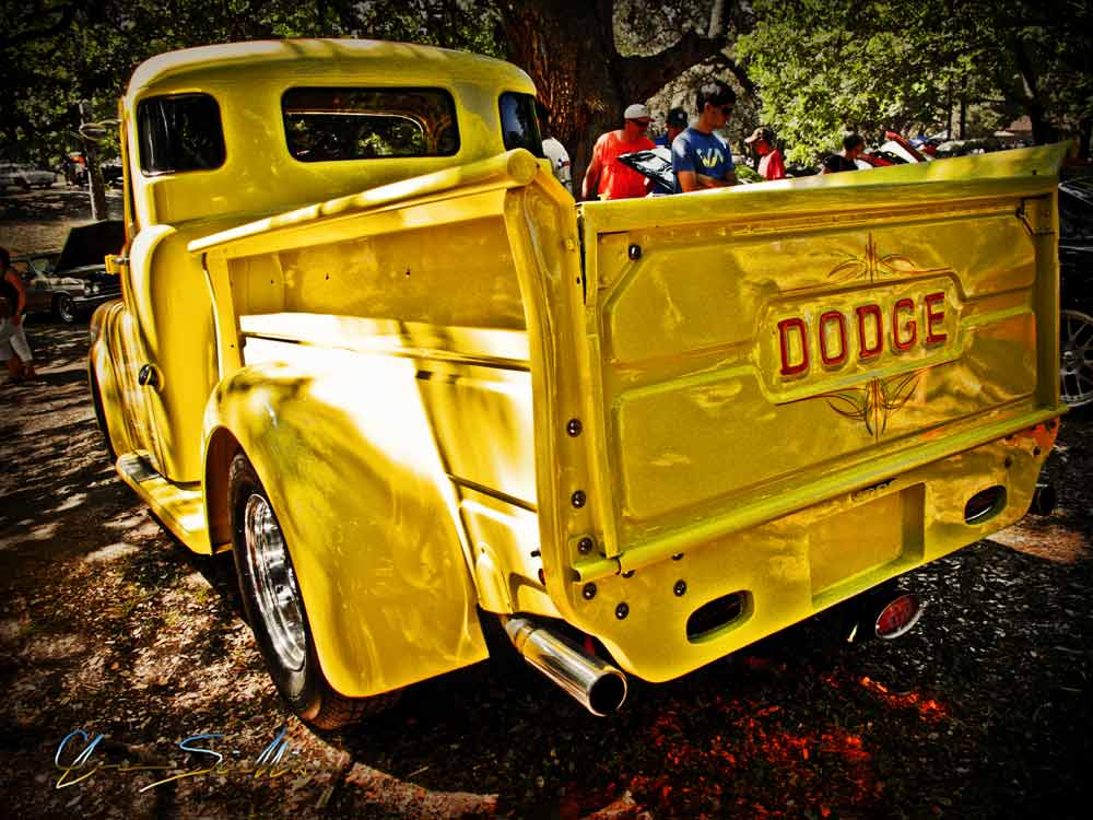 Dodge Pickup Truck Comes in Yellow!