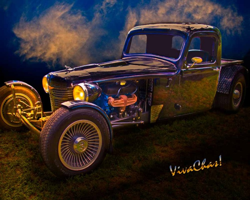 Hot Rod 35 Dodge Brothers Pickup Truck by VivaChas