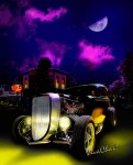 Spooky Coupe Hot Rod on a Saturday Night sometime around Halloween
