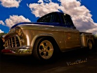 56 Chevy Pickup B4 Sundown