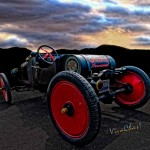 Ford Model T Racer Beat the Storm Home
