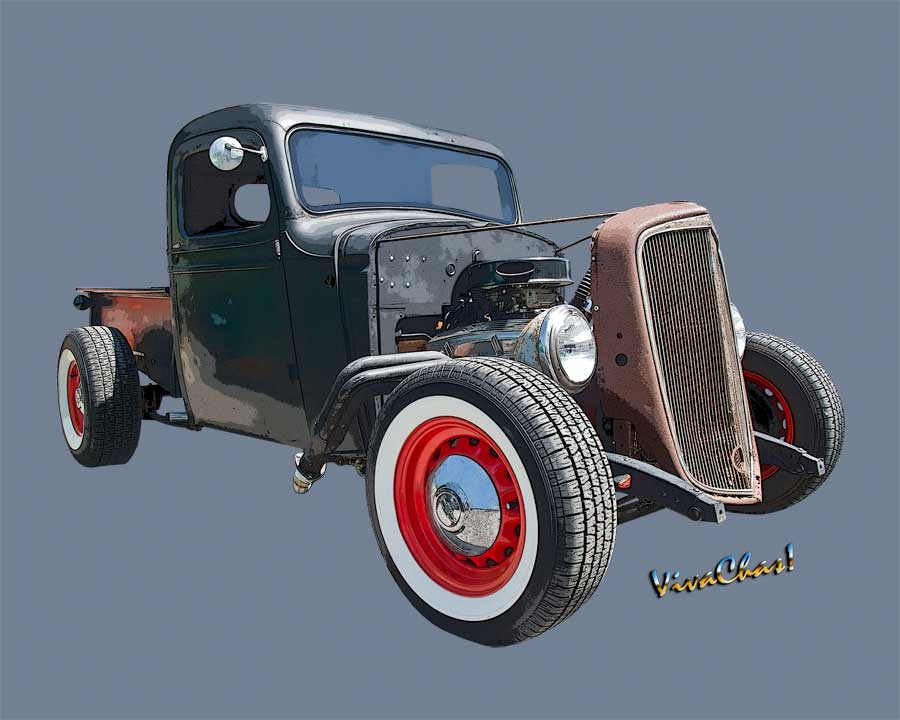 1936 Rat Rod Chevy Pickup Saw This Rod's Birth Now It's Reborn Sorta