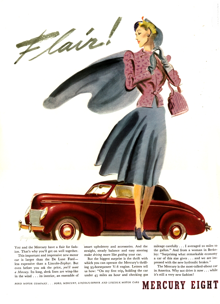 39 Mercury Ad from the nice folks at Old Car Advertising!