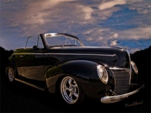 39 Mercury Convertible a Texas Hillcountry Ride to Remember - Clik the Pix to Get a Print