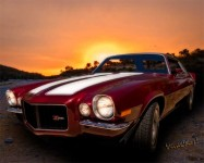 71 Z28 Camaro Tribute the Muscle Car I'd choose for a midnight cruise