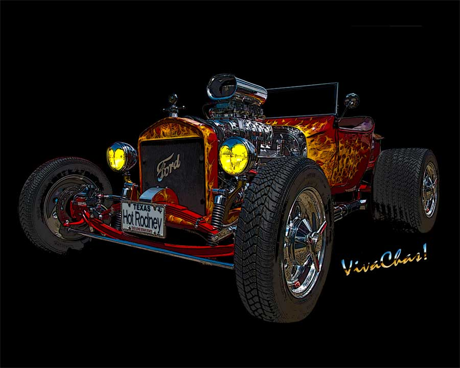 23 Ford Hot Rod the Stuff of Dreams a Model T Roadster