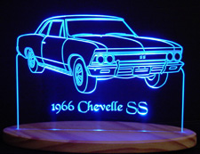 Custom lighted acrylic signs made from a photo of your vehicle, graphic or logo!