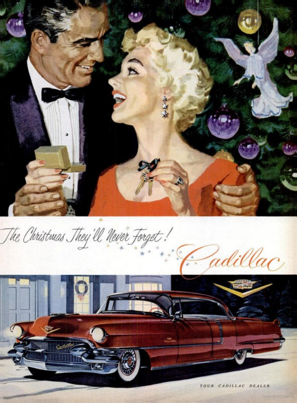 Dreamy Ad from 1956 for the Cadillac Mark from our Friends at Old Car Advertising ~:0)