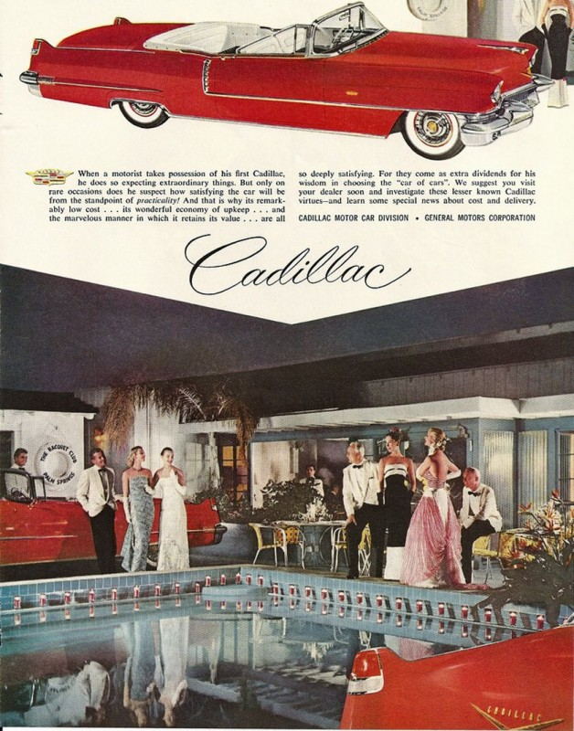 Great Marketing Patter in this Old Car Ad from Old Car Advertising ~:0)
