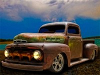 Ratty Ford Pickup by VivaChas! As seen at Hot Rodney Hot Rods