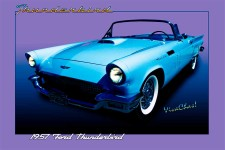 57 T-Bird - like Thunderbird Sky Opened New Ground in the Automotive World for Personal Luxury ~:0) VivaChas!