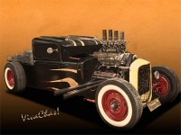 Rat Rod Love is all about How Ur Brain is Wired into the Hot Rod World