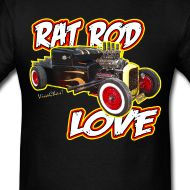 Rat Rod Love T-Shirt from VivaChas!
