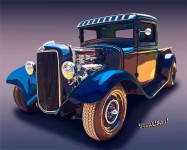 34 Ford Rat Rod Pickup a thing of beauty and mechanical prowess that defines an art form ~:0) VivaChas!