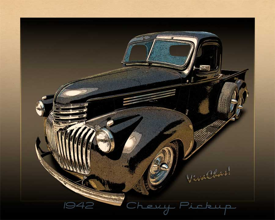 Chevy T Shirts >> 42 Chevy Pickup Rat Rod a Rare Breed with the Advent of WWII