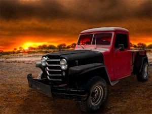 Willys Jeep Pickup is the culmination of our two year project building a Jeep rat rod ~:0) VivaChas!