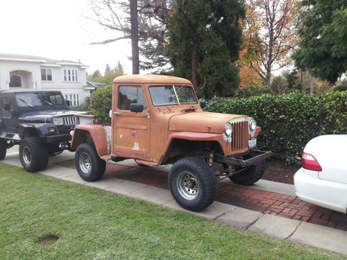 1949 Willys Jeep Pickup Truck - Photo submitted by Glenn Duffin