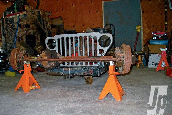 Willys Jeep Pickup - No - the Jeep project from JP Magazine - photo courtesy JP Magazine