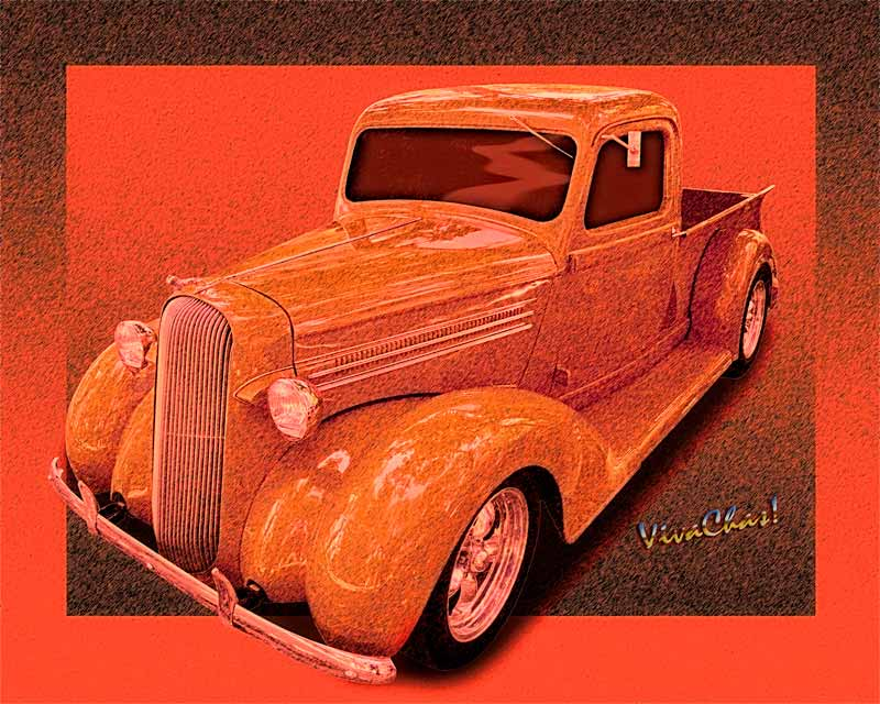 36 Dodge Pickup Street Rod - Ram Tough!