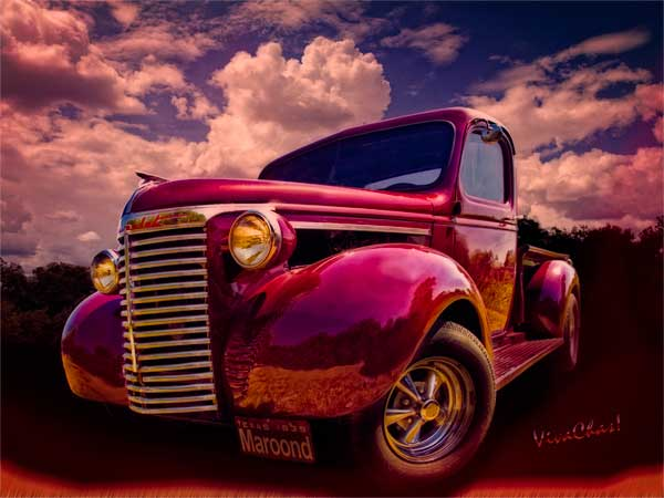 Hot Rod T Shirts >> 39 Chevy Pickup Maroon'd for Halloween Night at VivaChas! Clubhouse!