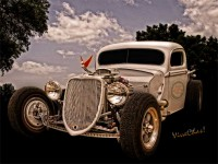 36 Ford Rat Rod Pickup Can it be Art?