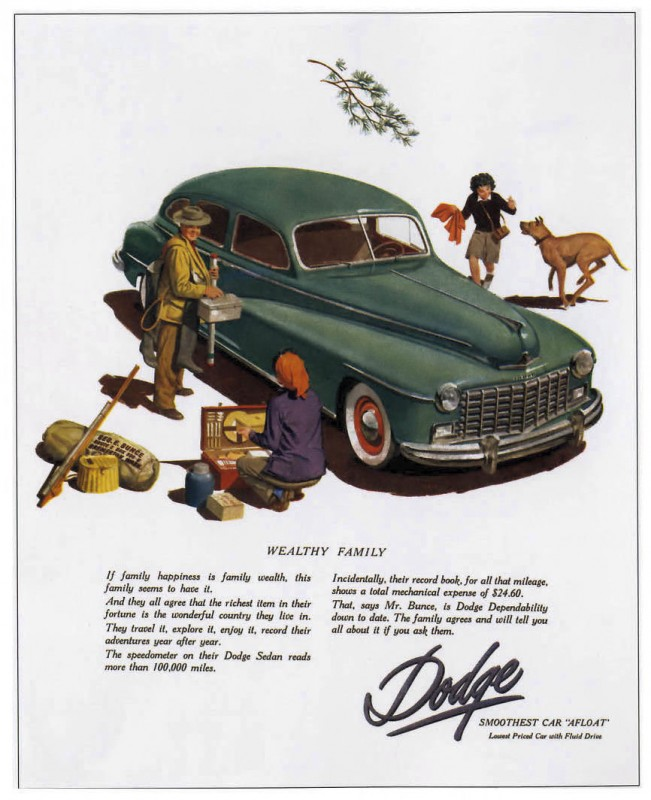 1948 Dodge Family Ad from the Great Folks at Old Car Advertising! ~:0)
