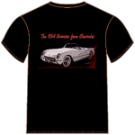 54 Corvette T-Shirt from VivaChas!