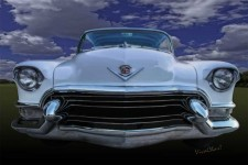 55 Cadillac Down inna Meadow Up in Kerrville - by VivaChas! A Copyrighted Image ~:0)