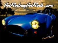 The Hot Rodney Hot Rods Cobra Poster Salutes the Mighty Shelby Cobra