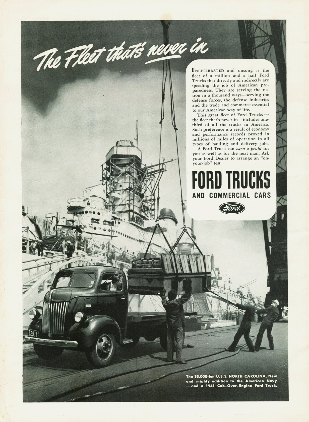 1941 Ford Truck Ad 01 Vivachas Hot Rod Stories