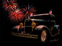 31 Five Window Coupe - Hot Rod Art from VivaChas!