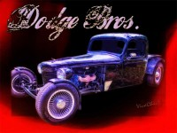 Dodge Bros Pickup Poster Hot Rod Art from VivaChas!