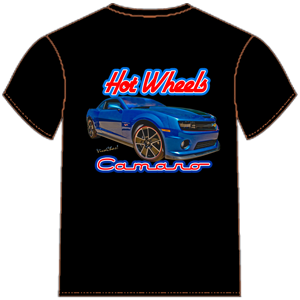 T-Shirts - Hot Wheels Camaro T-Shirt from VivaChas!