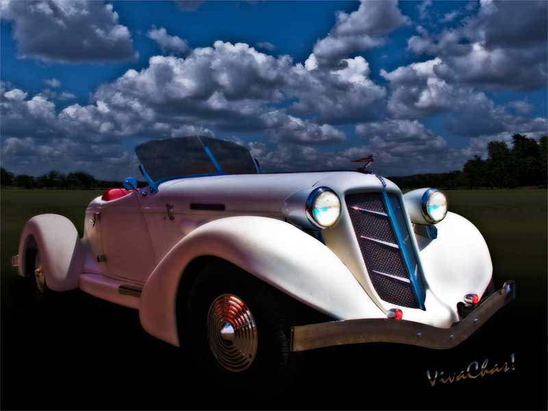 36 Auburn Speedster in Moonglow is my kind of ride