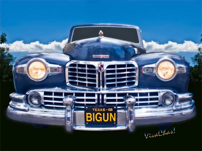 48 Lincoln Continental Grille Bigun more chrome than a bank