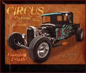 Circus Gowana Bros Flaming Death is our Tribute to DareDevils Everywhere ~:0)