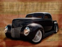 40 Ford Pickup from VivaChas and is it a Sinister looking Ride ~:0)