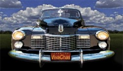 41 Cadillac Blue on Blue from VivaChas - copyrighted art ~:0)