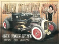 Hot Rods Built a New Old Sign from VivaChas - Click Pix to Buy ~:0)