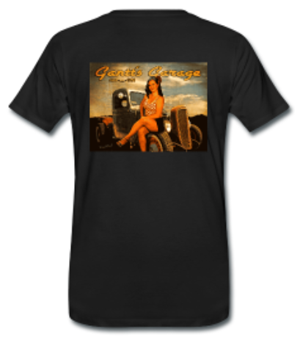 1956 Calendar Pinup T-Shirt from VivaChas Hot Rod Art! - click to shop