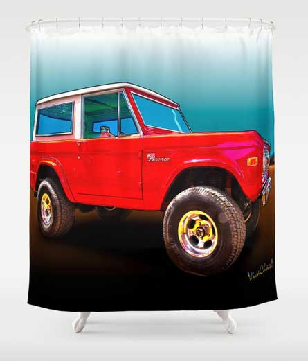 Ford Bronco Classic Curtain - Click the Curtain to Shop ~;0)
